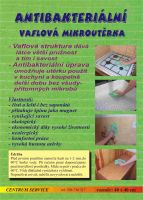 Vaflová antibakteriální mikroutěrka