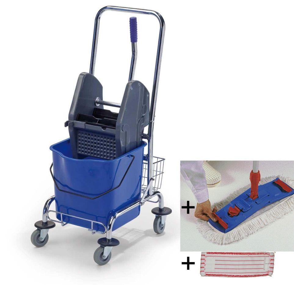 Úklidový set Single Standard s mopem a návleky