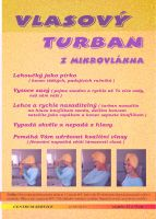 Vlasový turban z mikrovlákna